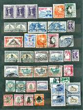 LOT OF 41 OLD / VINTAGE BRITISH COLONY SOUTH AFRICA STAMPS , USED