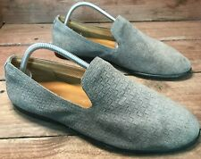 Aldo Suede Loafers Men's 8 Dress Shoe Gray Leather Driving Moccasin