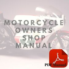 Yamaha 1984 IT490L Owner's Service Motorcycle Manual