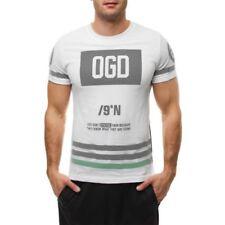 Camisetas de hombre multicolores talla M color principal blanco