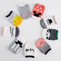 Non-slip Baby Toddler Low cut Socks Shoes Slippers Boys Girls children's