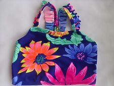 Old Navy Floral One-Piece Tankini Swimwear Top - Girls Size 4T