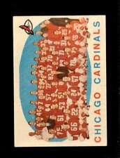 1959 TOPPS #118 CARDINALS TEAM VG+ *SBA1493