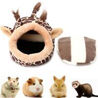 Kleintier Baumwolle Bett Höhle Süß Weich Haustier Cozy Nest Für Meerschweinchen