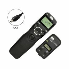 PIXEL Tw-283 LCD Wireless Timer Shutter Release Remote Control for Fuji Came