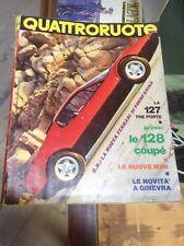 QUATTRORUOTE N°195 1972 FERRARI PININFARINA FIAT 127 128 COUPE' MINI SIMCA RALLY