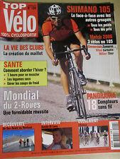 TOP VELO N°104: NOVEMBRE 2005: SHIMANO 105 - DANILO DI LUCA - 18 COMPTEURS