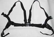 HARNESS REINS for BABY in SILVER CROSS WILSON COACH BUILT PRAM - BLACK
