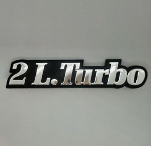 ⭐🇫🇷 NEUF MONOGRAMME 2L.Turbo RENAULT 21 R21 2 LITRES TURBO ABS QUADRA NEW BADG