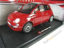 FIAT 500 2008 1/18 MOTORMAX (RED)