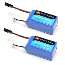 Refuelergy 2x BATTERY HIGH CAPACITY  UPGRADE For PARROT AR.DRONE 2.0 & 1.0