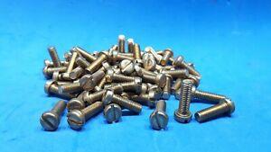 70 x Brass Pan Head Machine Screws M5 x 16mm