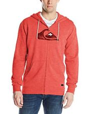 Brand New Authentic Quiksilver Men's Prescott Fleece Jacket / Hoodie - LARGE