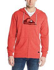 Brand New Authentic Quiksilver Men's Prescott Fleece Jacket / Hoodie - LARGE