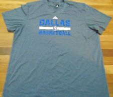 ADIDAS NBA DALLAS MAVERICKS AEROKNIT CLIMACOOL PERFORMANCE SHIRT SIZE 2XL