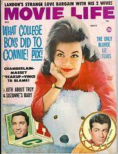 Annette Funicello Elvis Presley George Chakiris cover Movie Life magazine 1963
