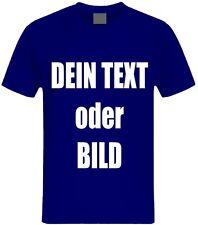 T-Shirt Druck, Wunschtext, Logo, Fotodruck, T-Shirt Baumwolle GHT14