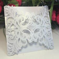 20PCS Anself Delicate Invitation Card for Wedding Party Banquet Decoration S7U0