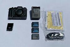 Fujifilm X-T3 Digital Camera (Body only) - Black - Flash, Warranty, Extra Batt.