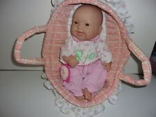 Berenguer Baby with Soft Berenguer Carrier/Bed