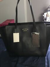 Brand New Authentic Gucci Black Leather Tote Large
