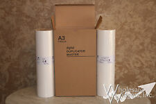 2 Master Rolls Compatible With Riso S-2659 For Risograph GR3770 Duplicator 78W