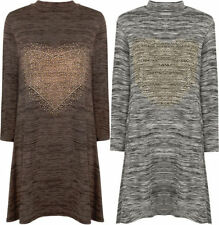 Polyester Tunic Machine Washable Solid Dresses for Women