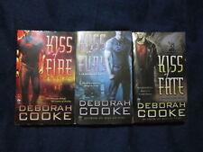 Deborah Cooke Dragon Fire Series Lot of 3 Books #1-3 Kiss Fire Fury Fate P42