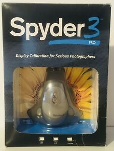 Datacolor Spyder 3 PRO Display Color Calibration System for Photography NIOB
