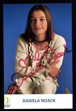 Daniela Noack DSF Autogrammkarte Original Signiert ## BC 21585