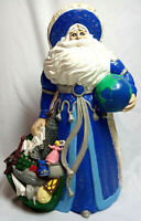 Vintage Father Time Millennium 1999 Gare Inc. Ceramic Hand Painted Figure