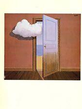 """1974 Vintage MAGRITTE """"POISON, LE POISON"""" COLOR offset Lithograph"""