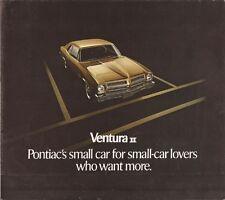 1972 72 Pontiac Ventura II & Sprint sales brochure
