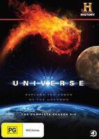 The Universe : Season 6 (DVD, 2012, 4-Disc Set) SERIES SIX SIXTH
