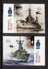 Australie 2011 Royal Australien Bleu Marine Paire Auto / Ad. À
