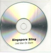 (147J) Singapore Sling, Last Man on Earth - DJ CD