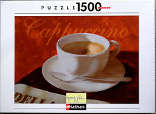 "* PUZZLE NATHAN  1500 Pièces  "" CAPPUCCINO ""  -   NEUF !"