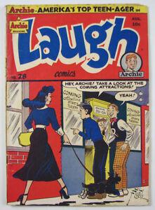Archie Magazine Laugh Golden Age Comic Book  #28  1948