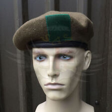 Solid Leather Military Hats for Men