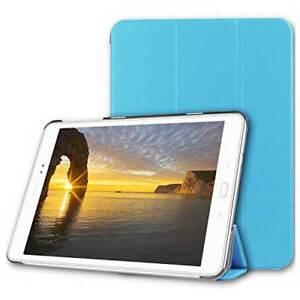 """CUSTODIA SMART COVER Integrale STAND per Samsung Galaxy TAB S2 9.7"""" T815 Azzurro"""