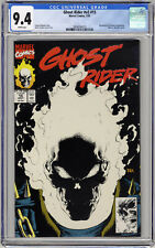 Ghost Rider v2 #15 CGC 9.4 White Pages Glow-In-The-Dark Cover