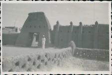 Sénégal, Dori, entrée de poste Vintage silver printPhotographie appartenant à