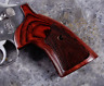 Altamont S&W K / L Frame Square Butt Target Grips Super Rosewood Checkered