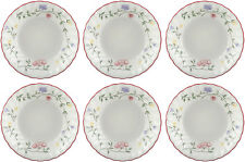 "Johnson Bros SUMMER CHINTZ 6 x fruits soucoupes 13 Cm/5"" - NEUF/UNUSED"