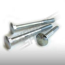Schlossschrauben Flach Schrauben metrisch M5 & M6  Voll.- oder Teilgewinde