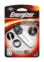 Energizer  30 lumens Black/Silver  LED  Flashlight  AAA Battery