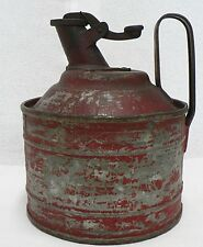 OLD VINTAGE PEERLESS SAFETY DEVISE GAS CAN