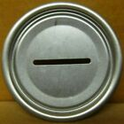 1 - Silver Steel 211 BANK TOP LID for straight-steel Beer CAN