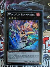 YuGiOh. Wind-Up Zenmaines. CT09-EN008. Limited Edition. Super Rare. Near mint