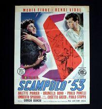 SCAMPOLO '53 manifesto poster Henri Vidal Maria Fiore Cane Dog C48